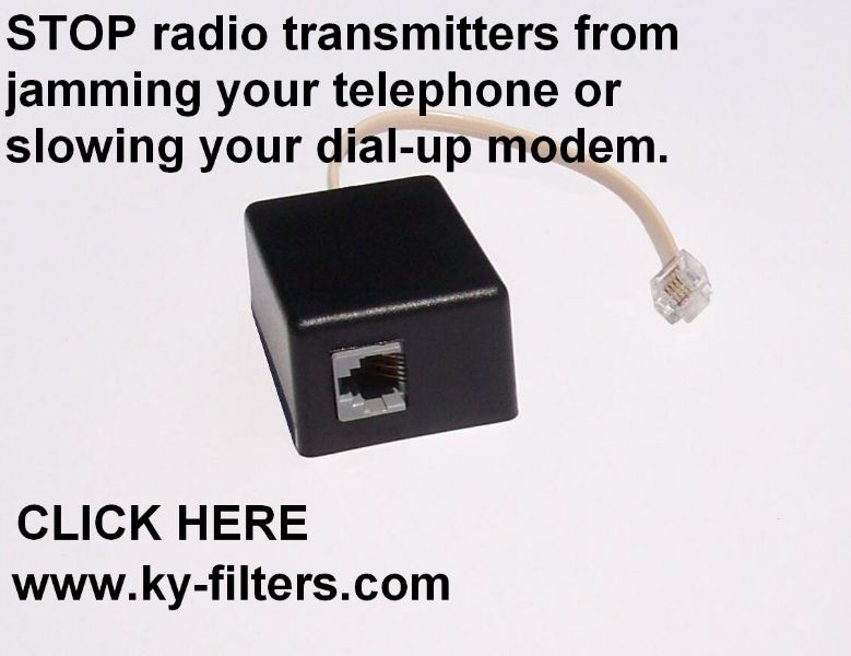telephone rf filter